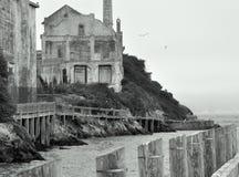 Una esquina de Alcatraz Imagen de archivo libre de regalías