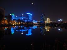 Una esquina de Chengdu, China foto de archivo