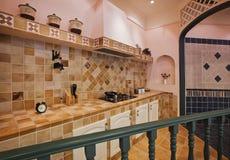 Una esquina de la cocina Imagen de archivo