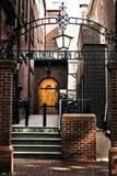 Una esquina de la Universidad de Pensilvania Foto de archivo