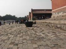Una esquina de las tumbas del este de la dinastía de Qing imágenes de archivo libres de regalías