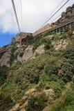 Una estación de 'Montserrat Aeri' Fotografía de archivo