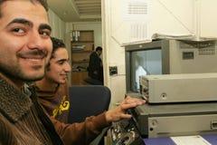 Una estación de televisión iraquí independiente, Cario Fotos de archivo libres de regalías