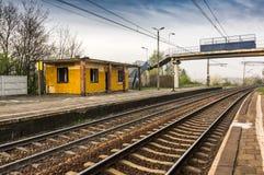 Una estación del abandono Imagen de archivo