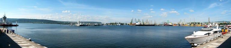 Una estación del puerto Fotos de archivo