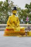 Una estatua de Buddha Fotografía de archivo libre de regalías