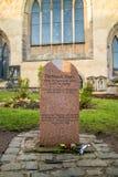 Una estatua de Greyfriars Bobby en Edimburgo fotos de archivo