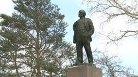 Una estatua de Lenin
