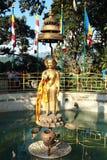 Una estatua de Lord Buddha. Fotografía de archivo libre de regalías