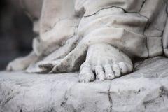 Una estatua de mármol Fotografía de archivo libre de regalías