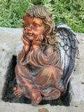 Una estatua del ángel Foto de archivo libre de regalías