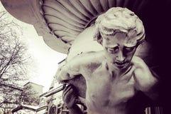 Una estatua del atlas en una fachada en Odessa - UCRANIA - EUROPA Fotos de archivo libres de regalías