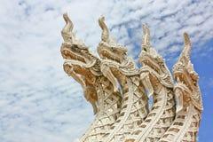 Una estatua del Naga Imágenes de archivo libres de regalías