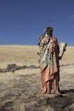 Una estatua religiosa sucia imagen de archivo libre de regalías