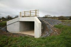 Una estructura del paso inferior de la autopista Foto de archivo libre de regalías