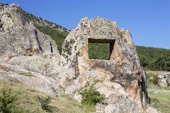 Una estructura en valle del Phrygia Imagen de archivo