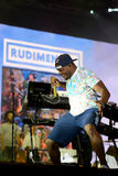 Una a execução Rudimental no palco principal no festival da saída fotos de stock royalty free