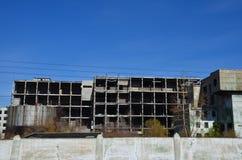 Una fábrica abandonada imagen de archivo