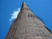 Una fábrica grande del tubo Foto de archivo libre de regalías