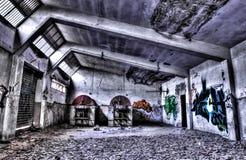 Una fábrica vieja Imagen de archivo