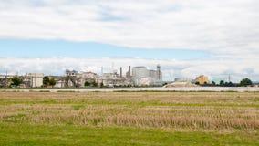 Una fabbrica del mulino di zucchero Fotografie Stock