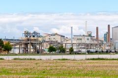 Una fabbrica del mulino di zucchero Fotografia Stock