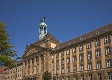 Una facciata storica dell'alta corte Immagini Stock
