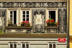 Una fachada del renacimiento Foto de archivo