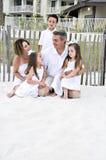 Una famiglia di 5 Fotografie Stock Libere da Diritti