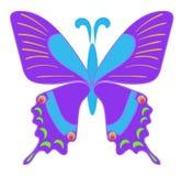 Una farfalla Fotografie Stock Libere da Diritti