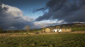 Una fattoria del distretto del lago Immagine Stock Libera da Diritti