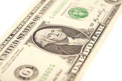 Una fattura del dollaro Fotografie Stock