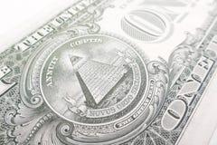 Una fattura del dollaro Fotografia Stock Libera da Diritti