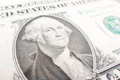 Una fattura del dollaro Immagini Stock Libere da Diritti