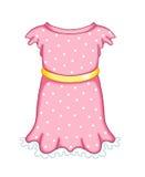 Una femmina 1 del bambino del vestito Immagine Stock