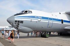 Una festa di 100 anni di aeronautiche militari della Russia Fotografie Stock Libere da Diritti