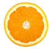 Una fetta di arancio Immagini Stock