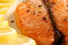 Una fetta di pesci Fotografia Stock Libera da Diritti