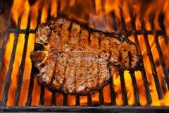Bistecca di bistecca con l'osso Fotografia Stock Libera da Diritti