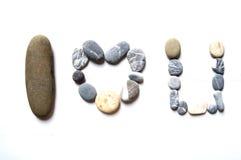 Una fila de la piedra Foto de archivo libre de regalías