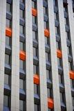 Una fine su delle finestre su un grattacielo moderno Fotografia Stock