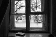 Una finestra al passato Fotografie Stock Libere da Diritti