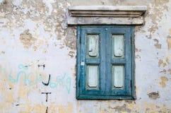 Una finestra dell'annata Immagine Stock