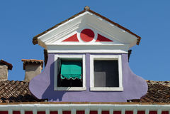 Una finestra divertente Fotografie Stock