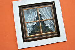 Una finestra sconosciuta Fotografie Stock