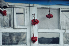Una finestra ucraina Immagine Stock