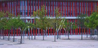 Una foresta artificiale variopinta Fotografie Stock Libere da Diritti
