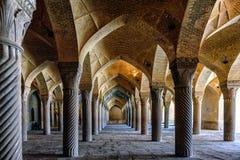 Una foresta di pietra a Shiraz fotografie stock