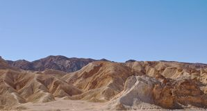 Una formación de roca en el desierto en California Imagen de archivo libre de regalías