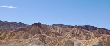 Una formación de roca en el desierto en California Fotografía de archivo libre de regalías